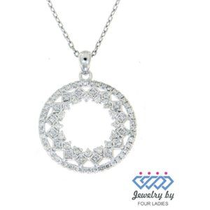 Natural Diamond Fancy Designer Pendant